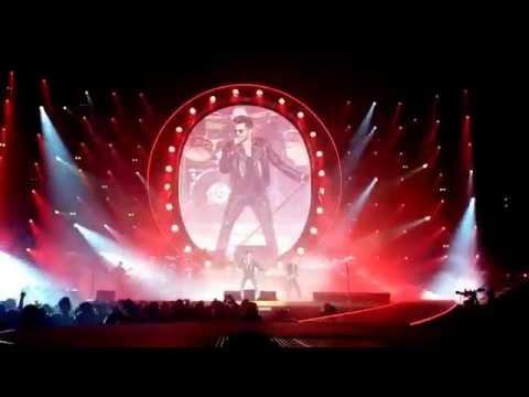 Queen + Adam Lambert 'One Vision' (Show Opener) Nottingham FM Arena 2015