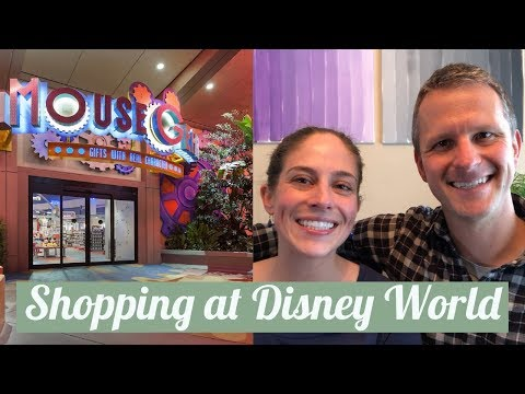 Shopping at Disney World + Shop Disney Parks App