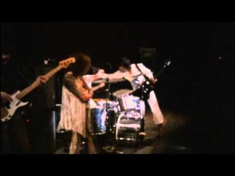 Pete Townshend and Keith Moon joking around