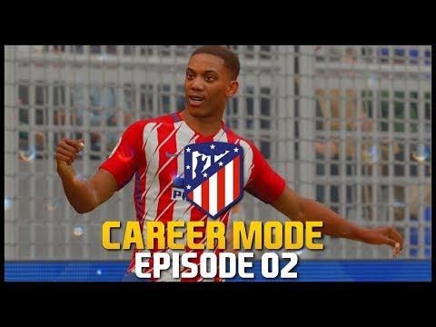 FIFA 18 | Atletico Madrid Career Mode - 'TONY MARTIAL SCORES AGAIN!' | #02