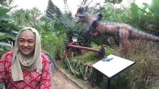 Ayara at Taman Legenda Keong Emas Petualangan Dinosaurus Taman Mini Indonesia