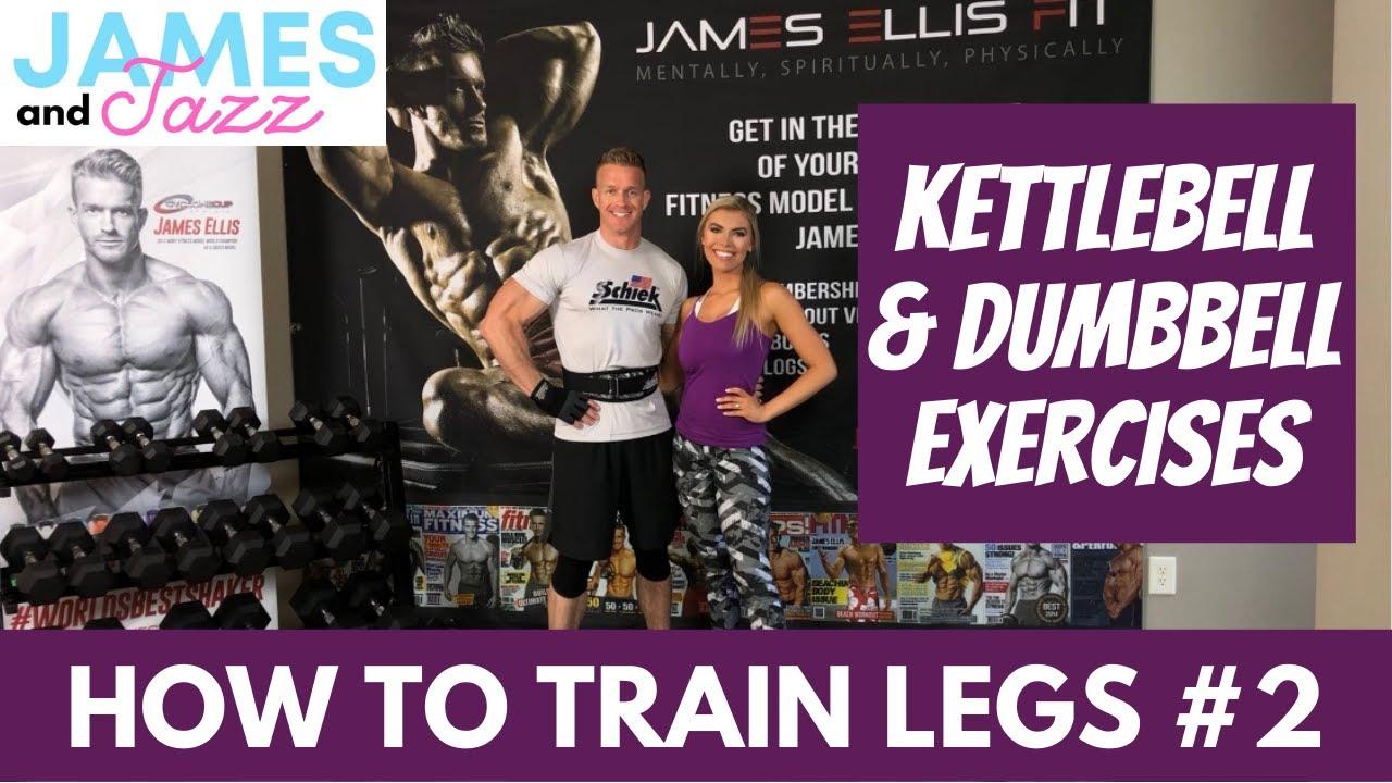 How To Train Legs 2 || Kettlebell Exercises || Dumbbell Exercises || Exercise Demonstrations
