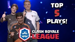 Clash Royale League: The Top Five CRL Moments! (Week 1)