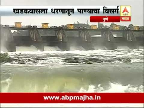 Pune: abp report on khadkawasla dam water released and high alert