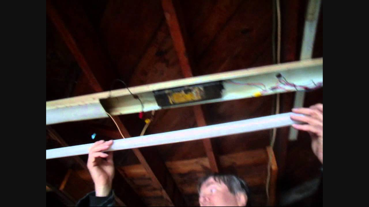 Light Fixture Wiring Diagram Uk Warn Atv Winch Parts Fluorescent Strip Fix - Youtube
