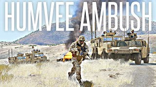 HUMVEE AMBUSH - ArmA 3 Milsim Operation