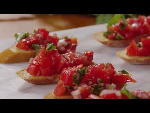 The Fancy, Simple Appetizer Recipe You Must Know: Bruschetta