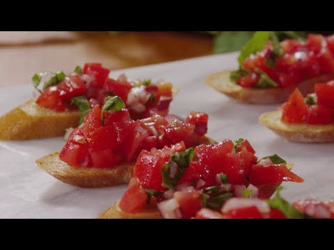 The Fancy, Simple Appetizer Recipe You Must Know: Bruschetta