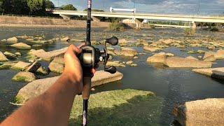 River Smallmouth Fishing (River Bass Fishing)