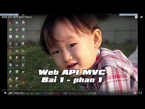 WEB API MVC Bai1 Phan1