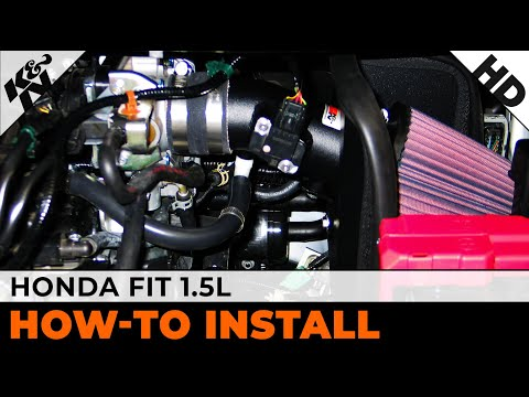 2009 2010 2011 2012 Amp 2013 Honda Fit 1 5l Air Intake