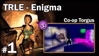 "[TRLE] ENIGMA - Co-Op Torgus [1/2] - ""Koty, labirynty i lustra"""