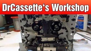 DrCassette's Workshop - Aiwa AD-F910 cassette deck repairs
