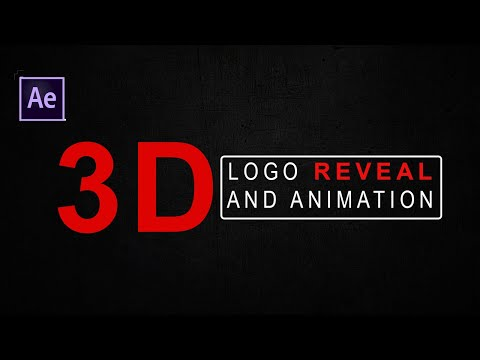3D LOGO REVEAL AND ANIMATION (NO PLUGIN NEEDED)