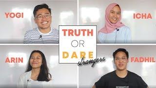 TRUTH OR DARE (STRANGERS) | ANAKSORE X HAZERGAMES