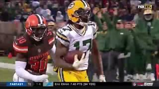 Davante Adams Game-Winning TD! Packers vs. Browns   NFL