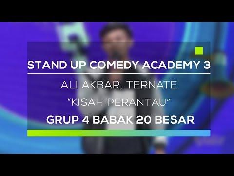 Stand Up Comedy Academy 3 : Ali Akbar, Ternate - Kisah Perantau