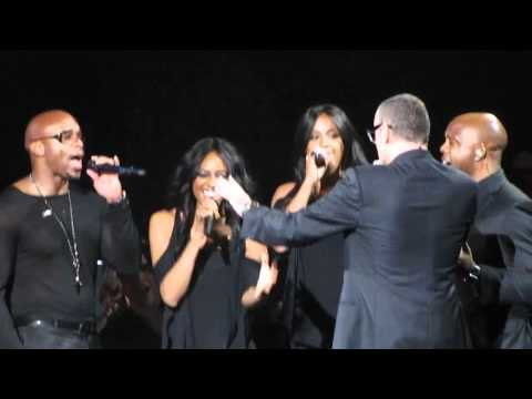 George Michael live - This Little Light of Mine/Amen