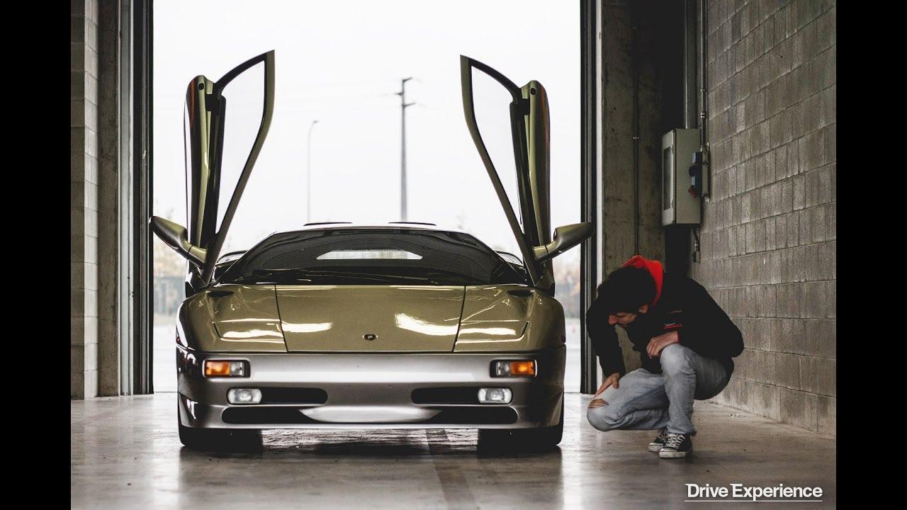 Lamborghini Diablo Sv Davide Cironi Drive Experience Eng Subs