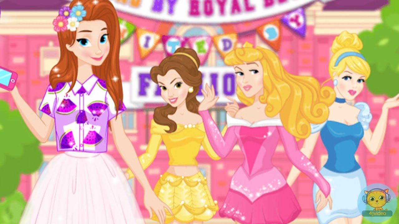 Disney Princess Sorority Pledge - Frozen Anna, Belle, Aurora ...