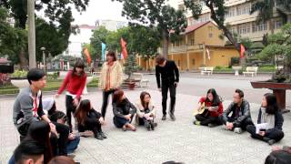 """[AJC Guitar Club] MV """"Xuân Hà Nội"""" - """"Lắng nghe mùa xuân về"""""""