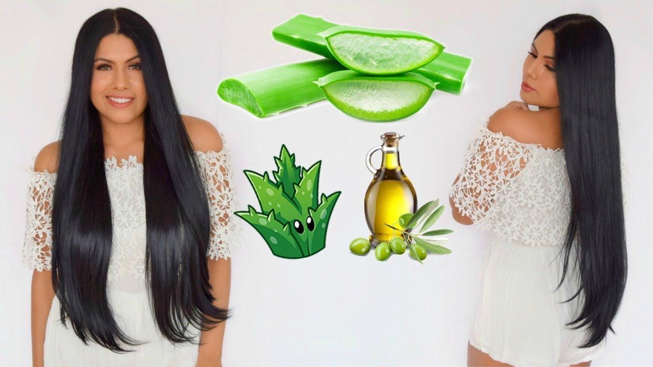 mascarilla de aceite de oliva para el cabello toda la noche