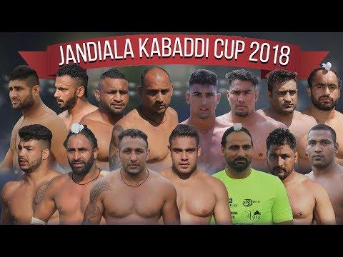 🔴 LIVE - JANDIALA Kabaddi Cup 2018 | Punjab Kabaddi Academy Cup