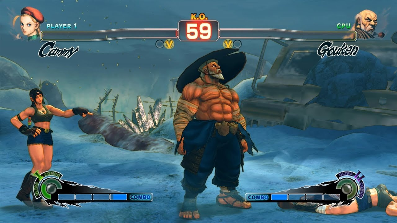 Ultra Street Fighter IV Ryu vs Gouken PC Mod - YouTube