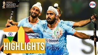 India v Belgium | Odisha Men's Hockey World Cup Bhubaneswar 2018 | HIGHLIGHTS