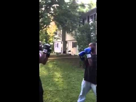 Boxing in tha hood pt.1
