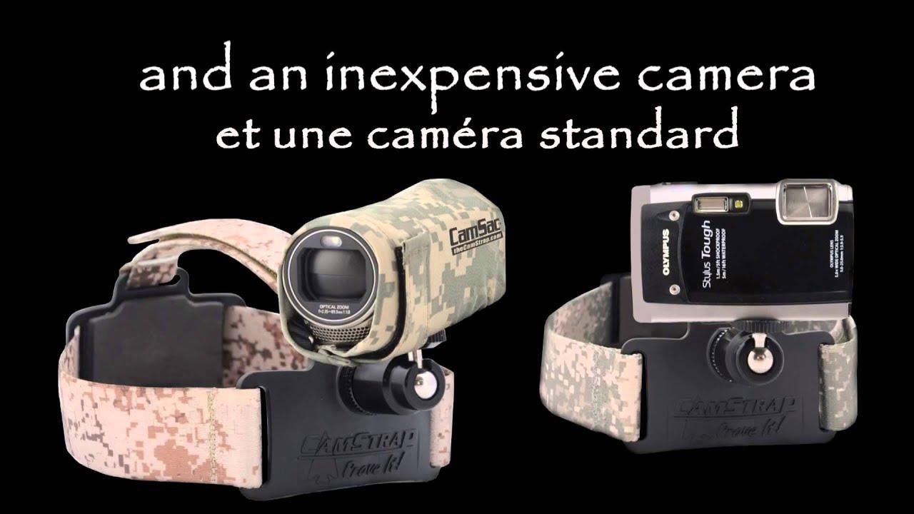 différents types de Los Angeles vente de sortie Bandeau de fixation de caméra