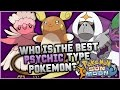 Who Is The BEST NEW Psychic Type Pokemon In Pokemon Sun and Moon?