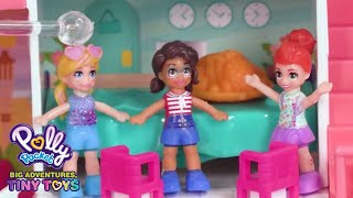 Polly Pocket 🌈💜A Dogs Day Out🌈💜Polly Pocket Toy Play🌈💜Videos For Kids