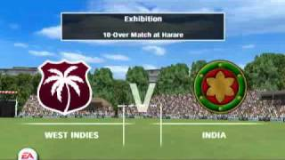 ea sports cricket 07 gameplay