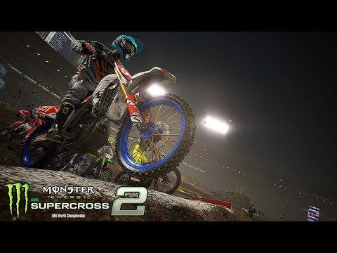 Monster Energy Supercross 2 Gameplay #15 - Mehr Spannung | Lets Play Monster Energy Supercross 2