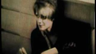 "ingrid emotes under the desk in ""Chelsea Girls"" (dir. Andy Warhol, ..."
