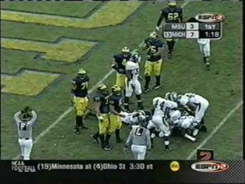 2002: Michigan-49 Michigan State-3 (PART 1)