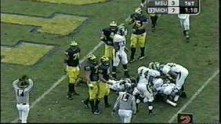 2002: Michigan 49 Michigan State 3 (PART 1)