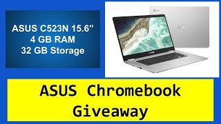 Asus 15.6 Chromebook C523 Review and Demo