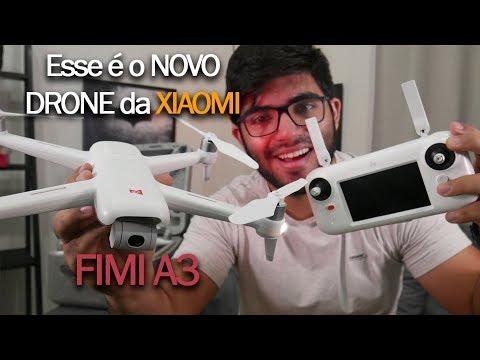 Em mãos! O drone baratinho da XIAOMI que trabalha muito bem! FIMI A3   Impressões