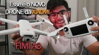Em mãos! O drone baratinho da XIAOMI que trabalha muito bem! FIMI A3 | Impressões