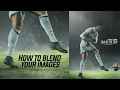 Photoshop Tutorial- Blending Images | Football Design | GraphicsD | Cristiano Ronaldo