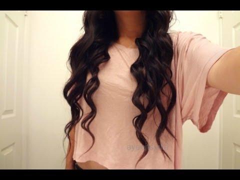 No Heat Loose Curls   Tutorial
