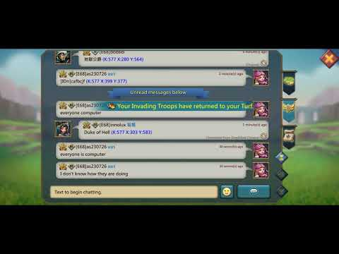 Cheating Lords Mobile....using Bots For Rss # IGG