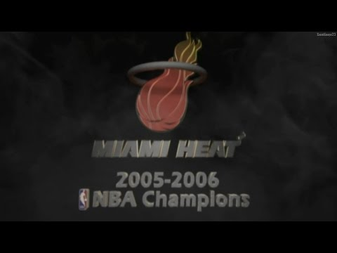 Miami Heat - 2005-2006 NBA Champions