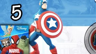 Disney Infinity: Toy Box 2.0 - Marvel's Captain America [episode 5] [ipad/android]