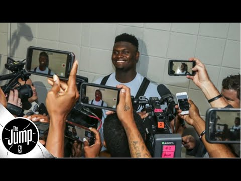Is the media putting too much pressure on Zion Williamson? | The Jump
