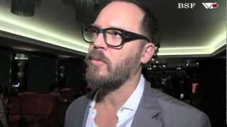 Greg Olliver and Jeremy Teicher at the London Film Festival