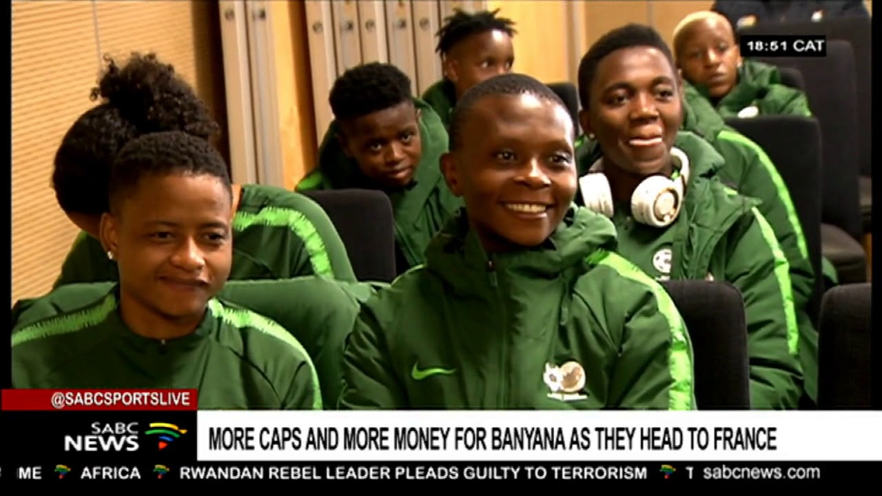 Banyana players to earn the same as Bafana