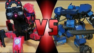 ROBOT DEATH BATTLE! - Ganker 02 VS Space Warrior (ROBOT DEATH BATTLE!)